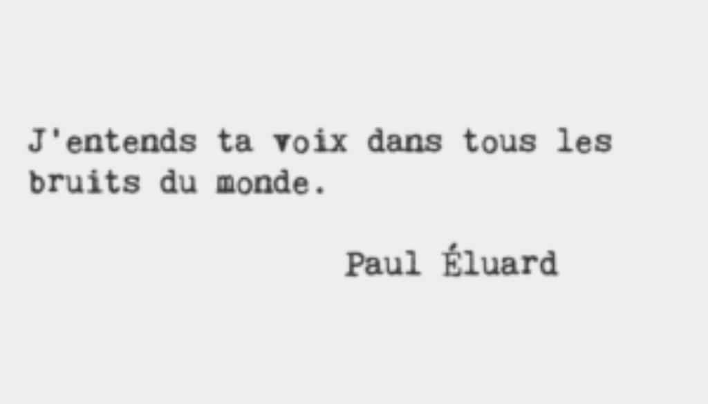Paul Eluard - Texte