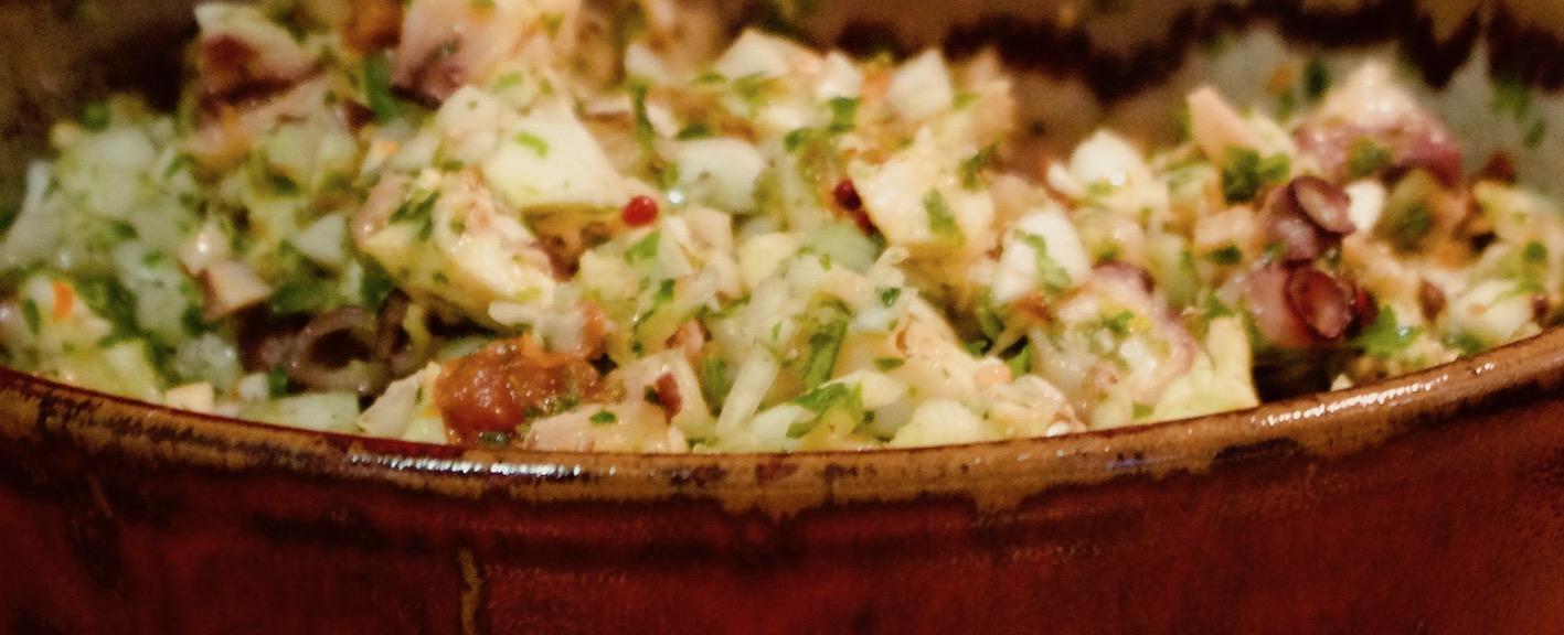 Salade de poulpe - M. Matas 2015